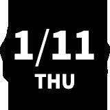 1/11 THU