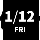 1/12 FRI
