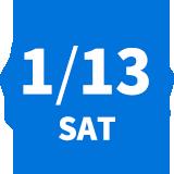 1/13 SAT